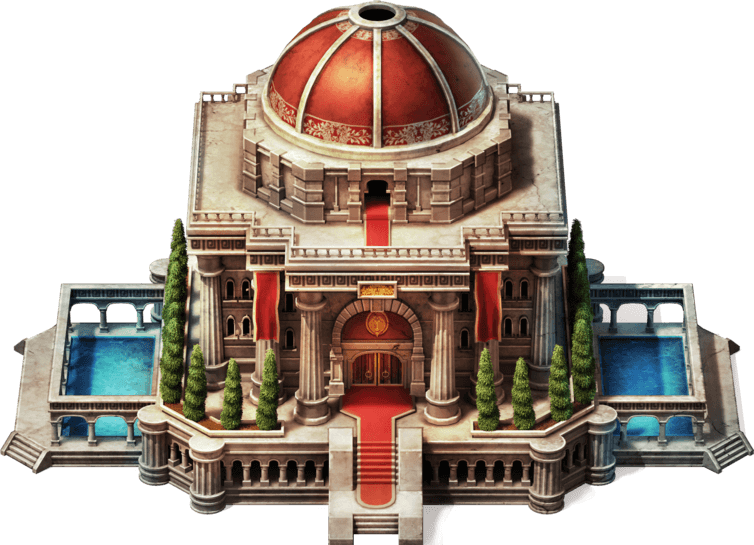Headquarters alliance city building inside game of war